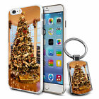 Xmas Tree Hard Case Cover & Keyring For Various Mobiles - 100