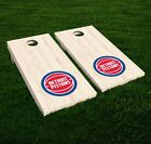 Detroit Pistons Cornhole Decal Vinyl NBA Basketball Car Wall Set of 2 GL70 on eBay