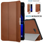 """LEATHER Flip Smart Magnetic Case For Tablet Samsung Galaxy A6 10.1"""" SM-T580/T585"""