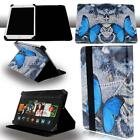 "FOLIO LEATHER STAND CASE COVER For Amazon Kindle Fire 7"" 8"" 8.9"" 10"" Tablet"