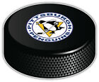 Pittsburgh Penguins Round NHL Logo Hockey Puck Bumper Sticker -9'', 12'' or 14'' $11.99 USD on eBay