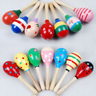 Infant Wooden Rattle Baby Toys Interesting Ball Toddler Sand Hammer Hot Musical
