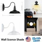 Lightess Metal Industrial Wall Sconce Shade Wall Light Lamp