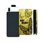 Personalised NAME BUTTERFLY Printed Pull Tab Pouch for Cubot Phone Models - 0026