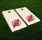 New Jersey Devils Cornhole Decal Vinyl NHL Hockey Car Wall Set of 2 GL93 $19.95 USD on eBay