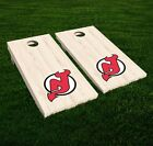 New Jersey Devils Cornhole Decal Vinyl NHL Hockey Car Wall Set of 2 GL93 $34.95 USD on eBay