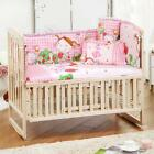 5 Pieces Set Baby Bedding - Set For Your Baby Crib (2x Long Bumper, Short Bumper