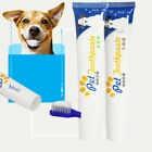 Внешний вид - Edible Dog Puppy Cat Toothpaste Teeth Cleaning Oral Care Pet Supplies Flowery