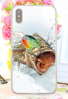 Bass Fishing Baits Lures Hook Tackle Spinning Rods Hard Cover Case For iPhone 3