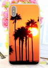 California Coconut Sunset Postcard Poster Hard Cover Case For iPhone Huawei 7