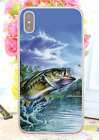 Bass Fishing Baits Lures Hook Tackle Spinning Rods Hard Cover Case For iPhone 4