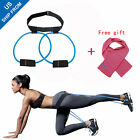 Women Booty Butt Exercise Band Home Workout Resistance Belt Shape Body Gym image