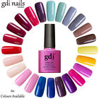 NEW GDI & CRYSTAL-G Nails 111 Classic Colours Soak Off UV/LED Gel Nail Polish UK