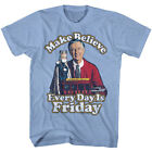 Mr Rogers Neighborhood Kids Show Make Believe Every Day Is Friday Adult T Shirt