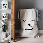 Multifunction Laundry Basket Dirty Clothes Toy Storage Bag  Hamper Loose Strap66