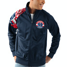 Washington Wizards G-III Sports INTERCEPTION Full-Zip NBA Track Jacket