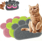 Pet Dog Cat Puppy PVC Placemat Dish Bowl Feeding Food Mat Li