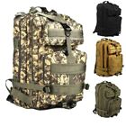 40L Molle Outdoor Military Tactical Bag Camping Hiking Trekking Backpack RFID