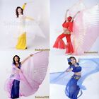 USABelly Dance worship cosplay parade prop Isis Wings WITH expandable Sticks