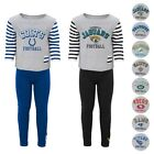 NFL Long Sleeve T-Shirt & Pants Set Infant Toddler Little Girls (12 Months-6X) $10.49 USD on eBay