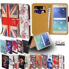 For Samsung Galaxy Note Phones - Leather Wallet Card Stand Flip Case Cover