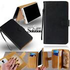 For Various Alcatel SmartPhones - Leather Wallet Card Stand Flip Case Cover