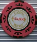 JAMES BOND 007 CASINO POKER CHIP CARD GUARD CASINO ROYALE, SKYFALL. 50th ANNIV.