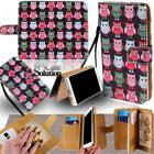 For Various HTC SmartPhones - Leather Wallet Card Stand Flip Case Cover