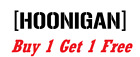 ~*~ 2 HOONIGAN Vinyl Decals Stickers YETI MONSTER car truck