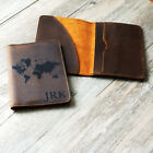 Personalized Genuine Leather Passport Cover ; Custom Printed Passport Holder u