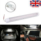 12v 72 Led Car Interior White Strip Lights Bar Lamp Van Caravan On Off Switch #g