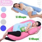 U Shape/C Shape Pregnancy Pillow-Full Body Pillow for Maternity & Pregnant Women image