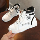 Kids Boys High-top Casual Running Athletic Childrens Girls Sports Trainers Shoes