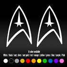 "6"" Star Trek Logo Emblem Laptop Diecut Bumper Car Window Vinyl Decal sticker on eBay"