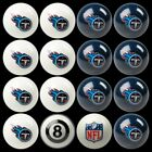 NFL Billiard Ball Set - The Ultimate Tennessee Titans Fan Pool Table Ball Set $387.62 USD on eBay