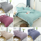 Geometric Lattice Pattern Microfiber Duvet Cover Bed Set with 2 Pillow Shams US image