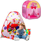Foldable Kids Children Toddler Play Tent Playhouse With Carry Bag Indoor Outdoor
