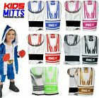 2oz 4oz 6oz Kids Boxing Gloves Junior Mitts Punch Bag Children Gel Pad Gloves