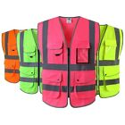 Внешний вид - JKSafety High Reflective Safety Vest ANSI Class 2 Multi Pockets Multi Colors PPE