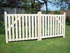 Redwood Budget Single Wooden Driveway Gate.  3ft x 2ft 6