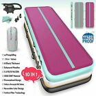 20FT Airtrack Inflatable Air Track Floor Home Gymnastics Tumbling Mat GYM + Pump image