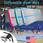 10ft Airtrack Inflatable Air Track Floor Gymnastics Tumbling Mat GYM ( Pump ) OY image
