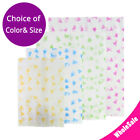 Multiple Sizes Color Pattern Two-sided Rice Paper Mylar Open Top Pouch Bag M30