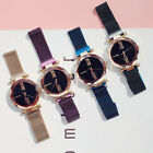 Luxury Women Starry Sky Watch Magnet Strap Buckle WristWatch Fashion Star Watch image