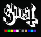 Ghost Logo Vinyl Decal Die Cut Sticker Ghost B.c. Bc Rock Band Metal