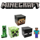 Halloween Party Unisex Costume Minecraft Full Head Mask Creeper Steve Enderman