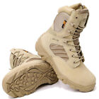 Desert Army Patrol Boots Special Forces Tactical Military Work Tan Jungle Shoes