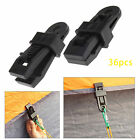 12/24Pcs Awning Clamp Tarp Clips Tie Down Snap Hangers Tent Canvas Camping