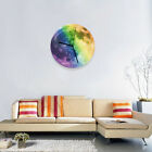Modern 3D Wall Clock Moon Moonlight Glow In The Dark Clocks Home Office Decor US