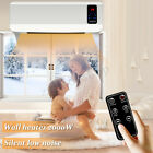 2000W Electric Wall Mounted Heater Space Heating Air Conditioner Remote Drying